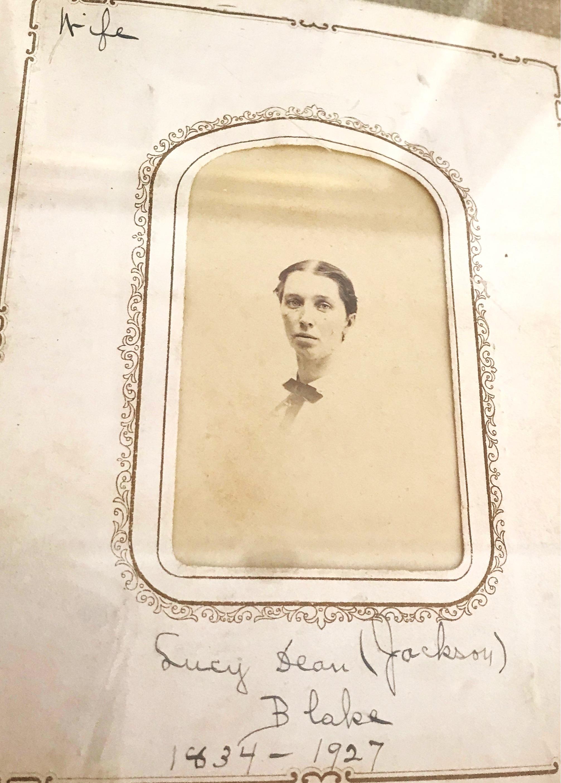 Lucy Blake, wife of Tamworth Civil War soldier.
