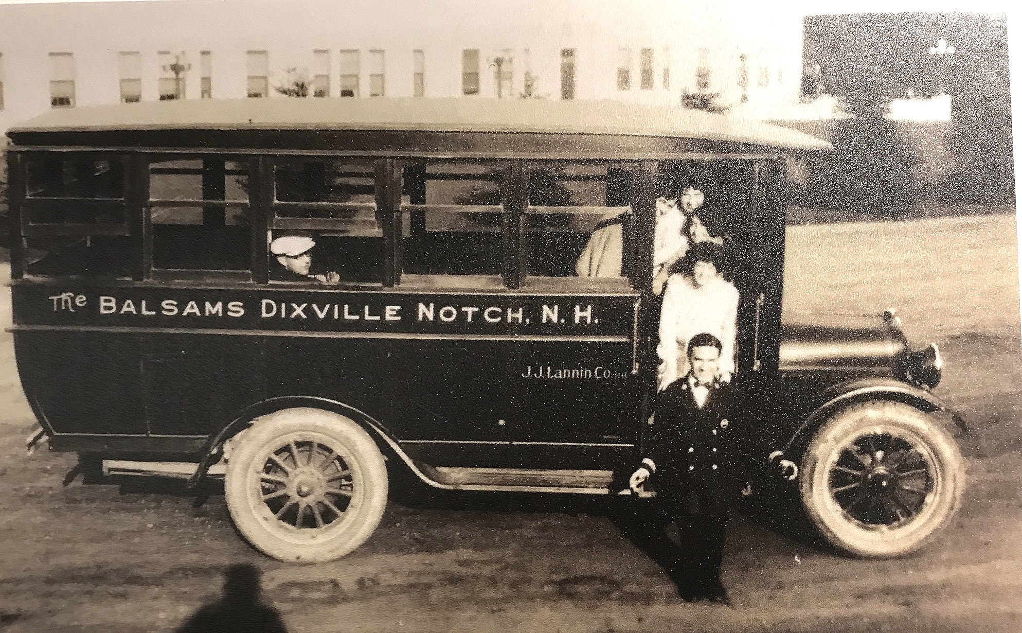 Transportation for guests at Dixville Notch.