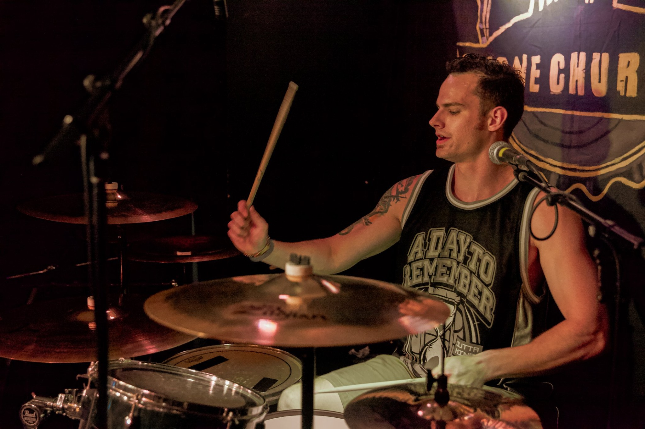 Not30's Drummer - Mark Thompson   Photo by French's Fried Photos @frenchsfriedphotos