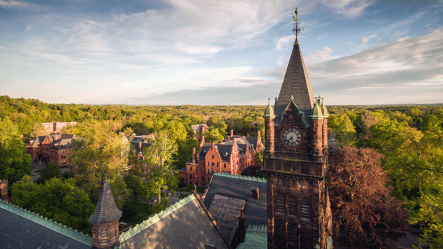 Image of Mount Holyoke College by Ryan Donnell. Used with permission.