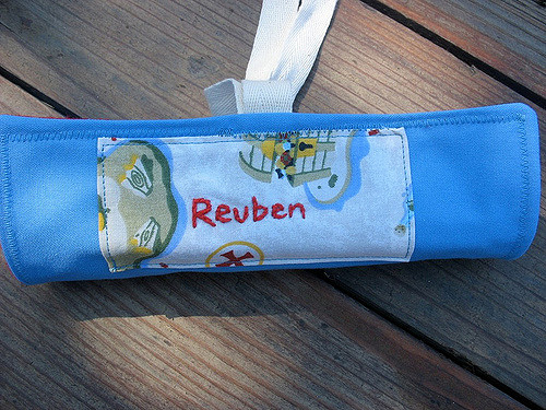 pencil roll-up