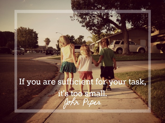 If you are sufficient for your task, it's too small..jpg