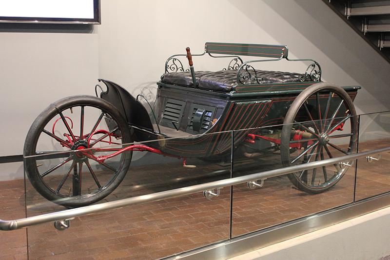 Duryea Motor Trap Exhibit   , Peoria Riverfront Museum