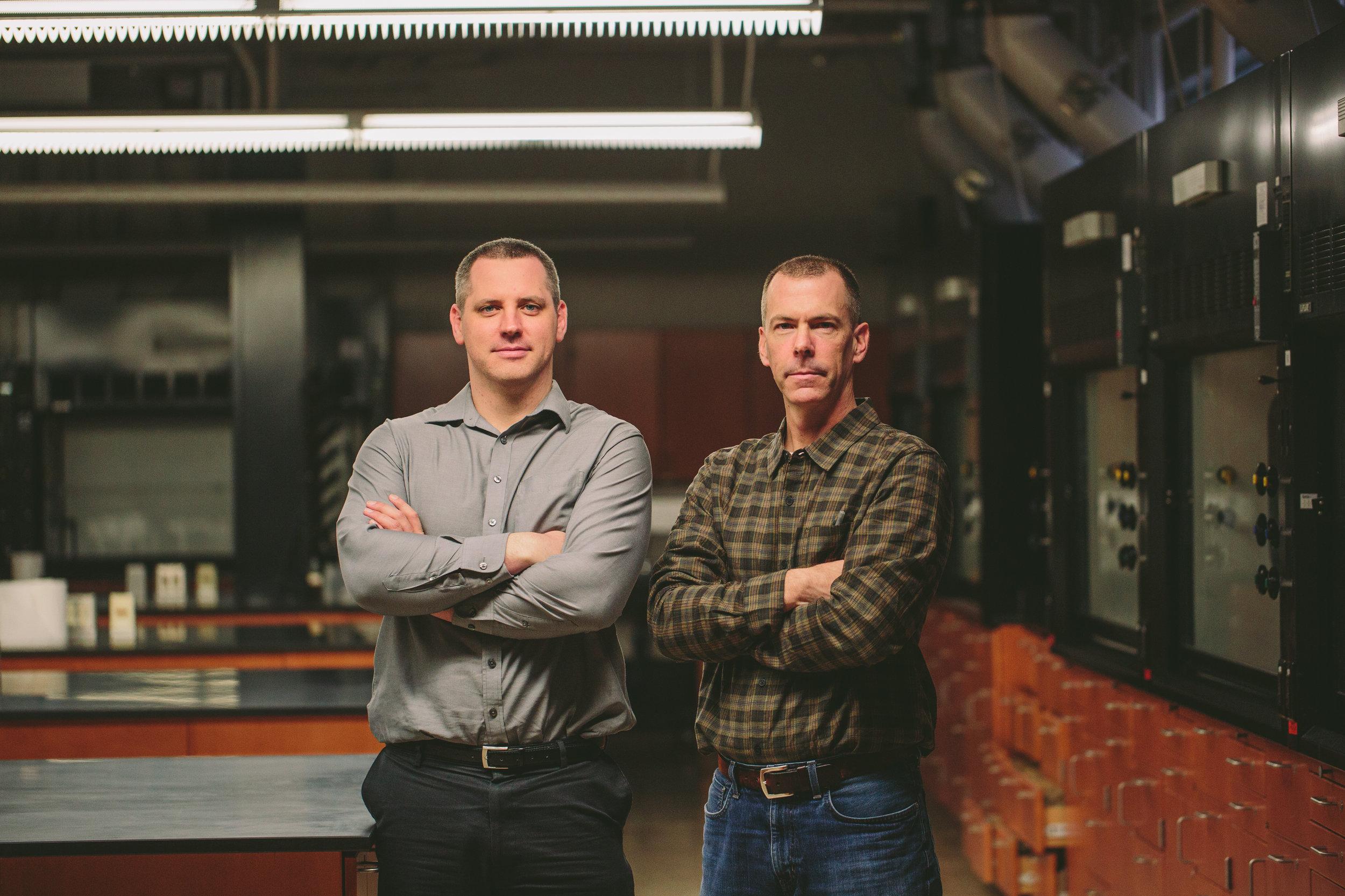 Dr. Luke Haverhals (Founder & CEO) & Steve Zika (COO)