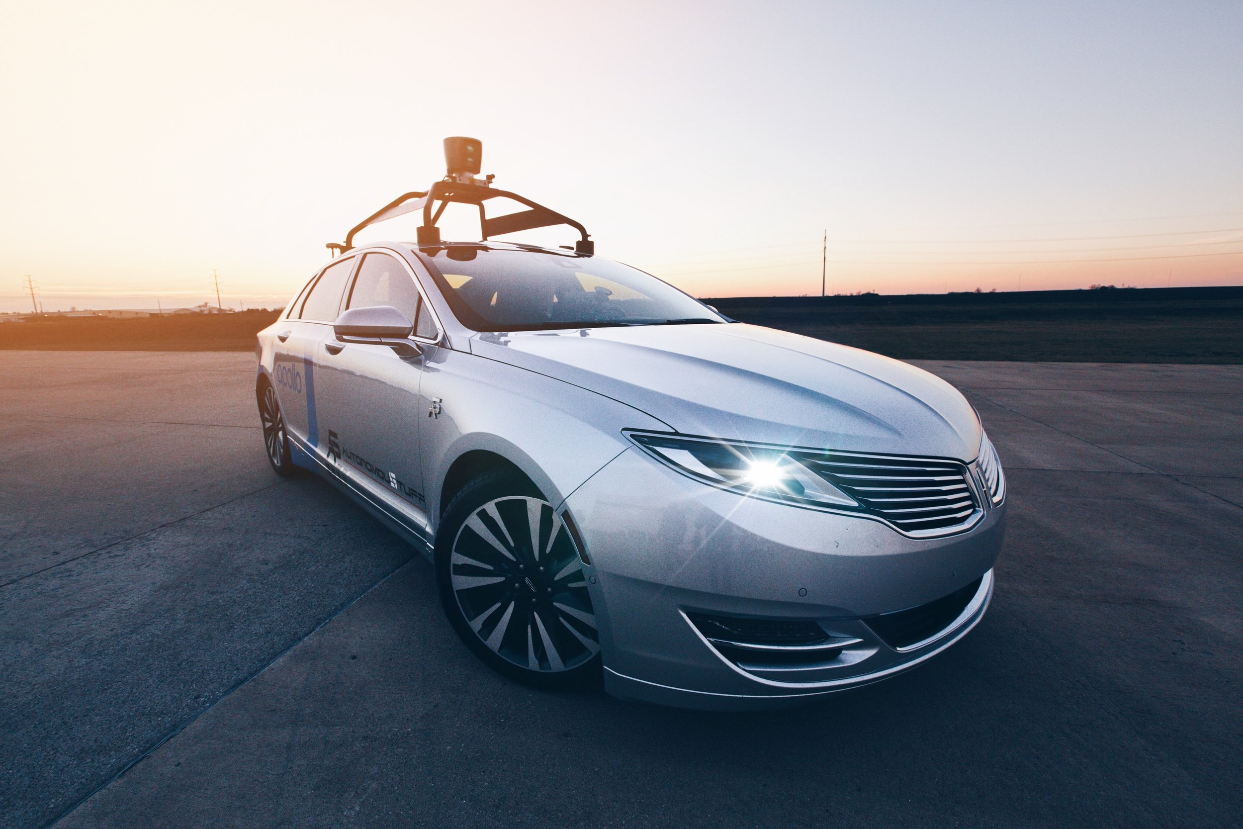 AutonomouStuff's Baidu Apollo Test Vehicle