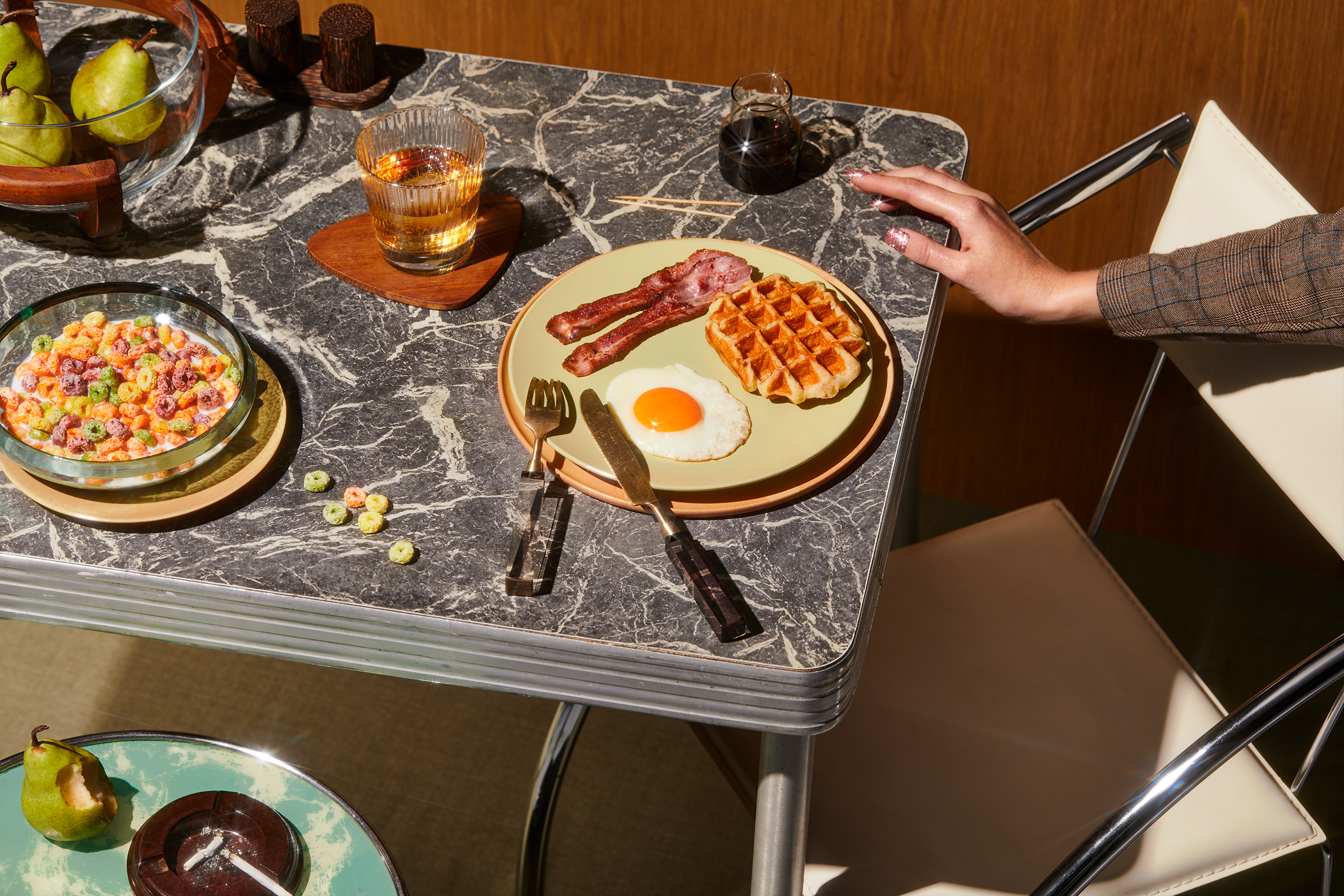 Breakfast shot by Sydney advertising, Interior, food and lifestyle photographer Benito Martin