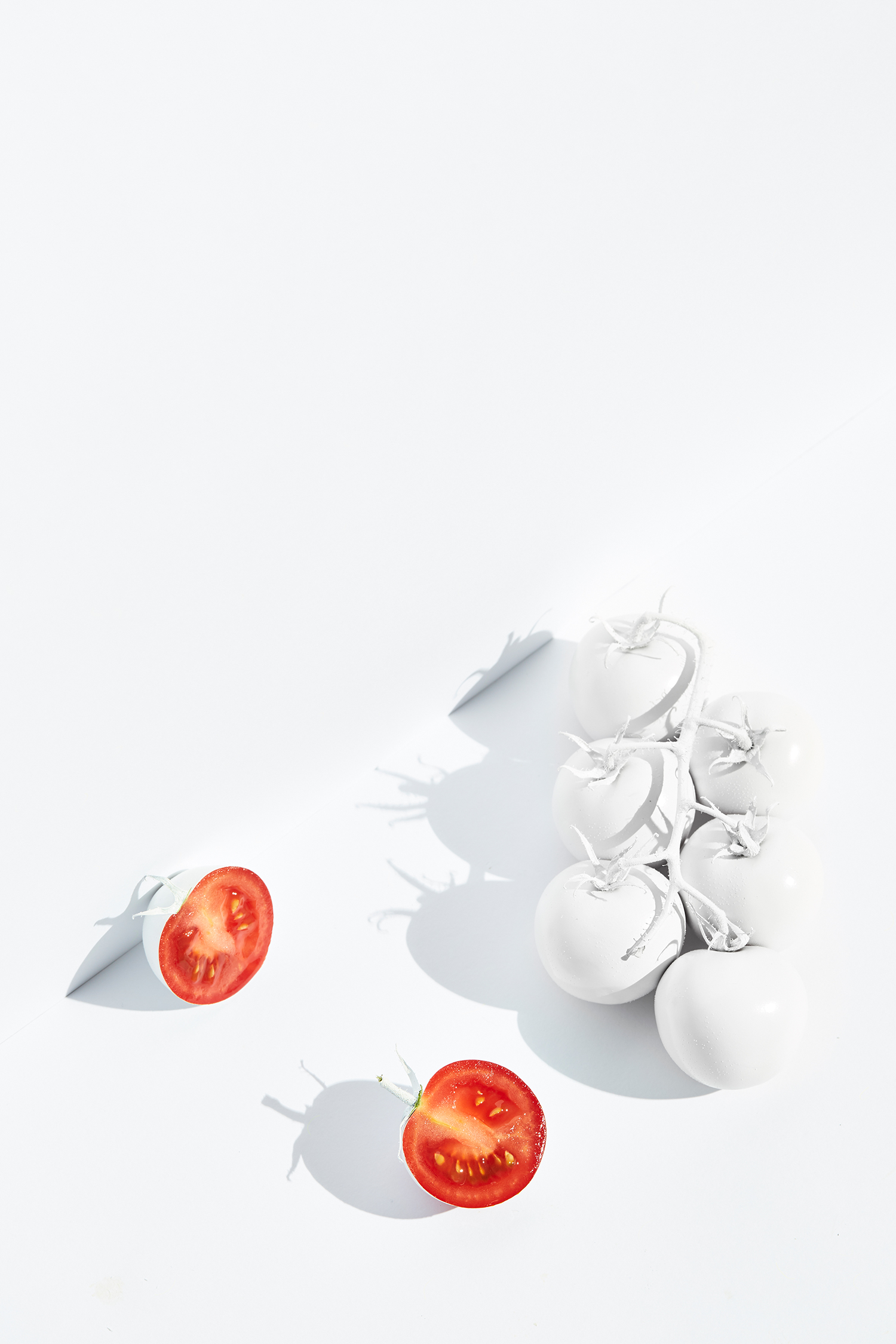 TOMATOES shot by Sydney advertising, Interior, food and lifestyle photographer Benito Martin