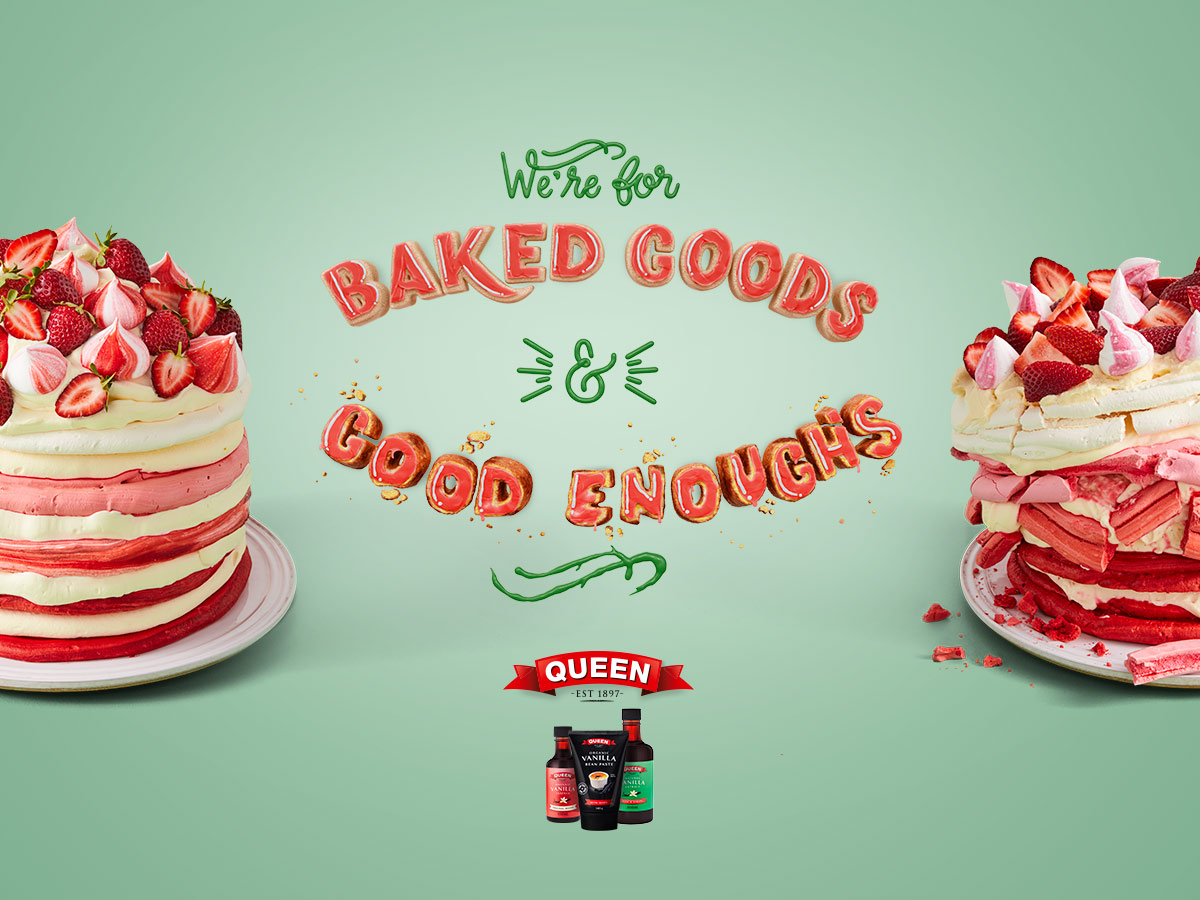 Queen Fine Foods shot by Sydney advertising food and lifestyle photographer Benito Martin