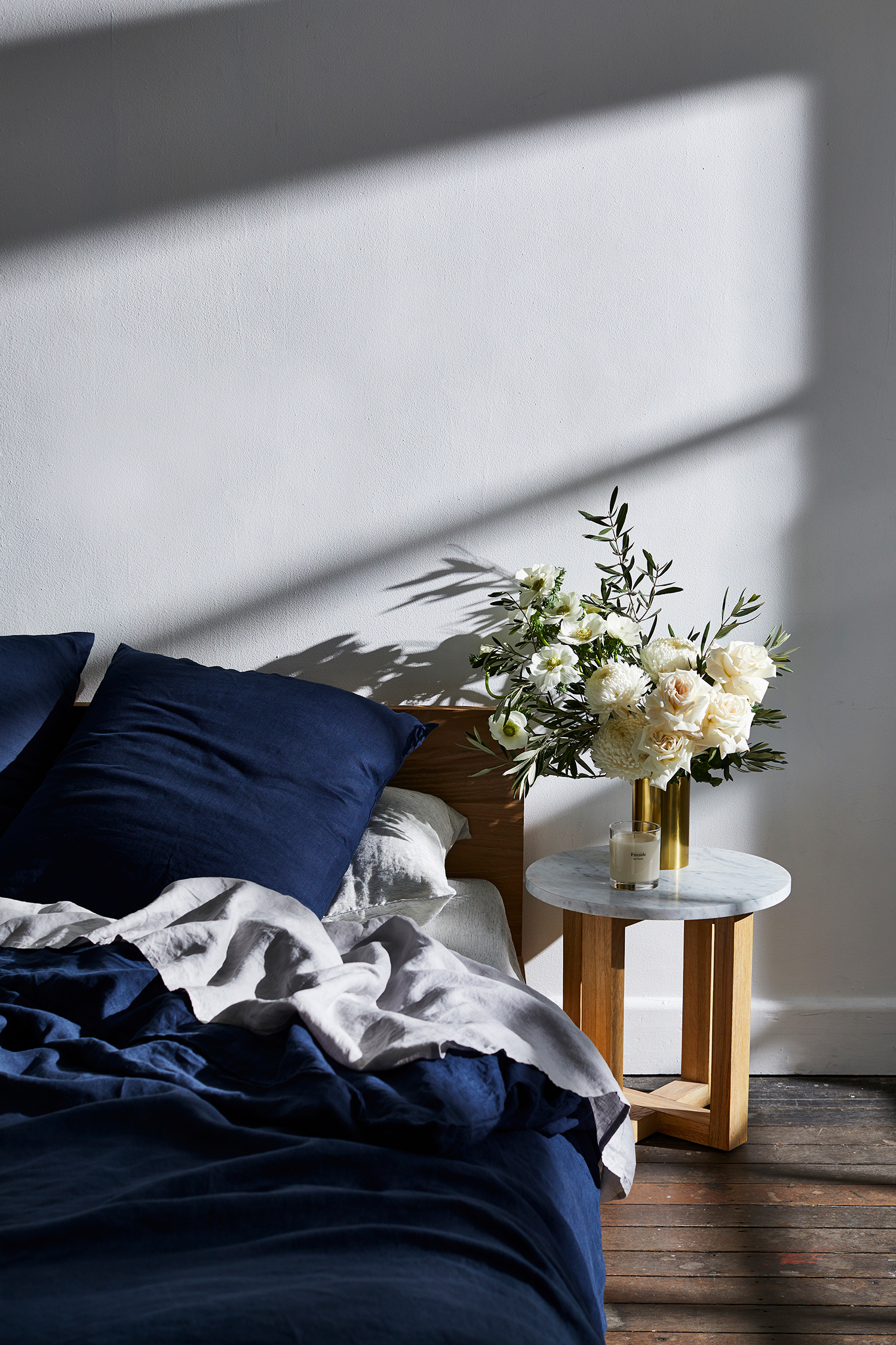 Bed Threads Linen shot by Sydney advertising food and lifestyle photographer Benito Martin