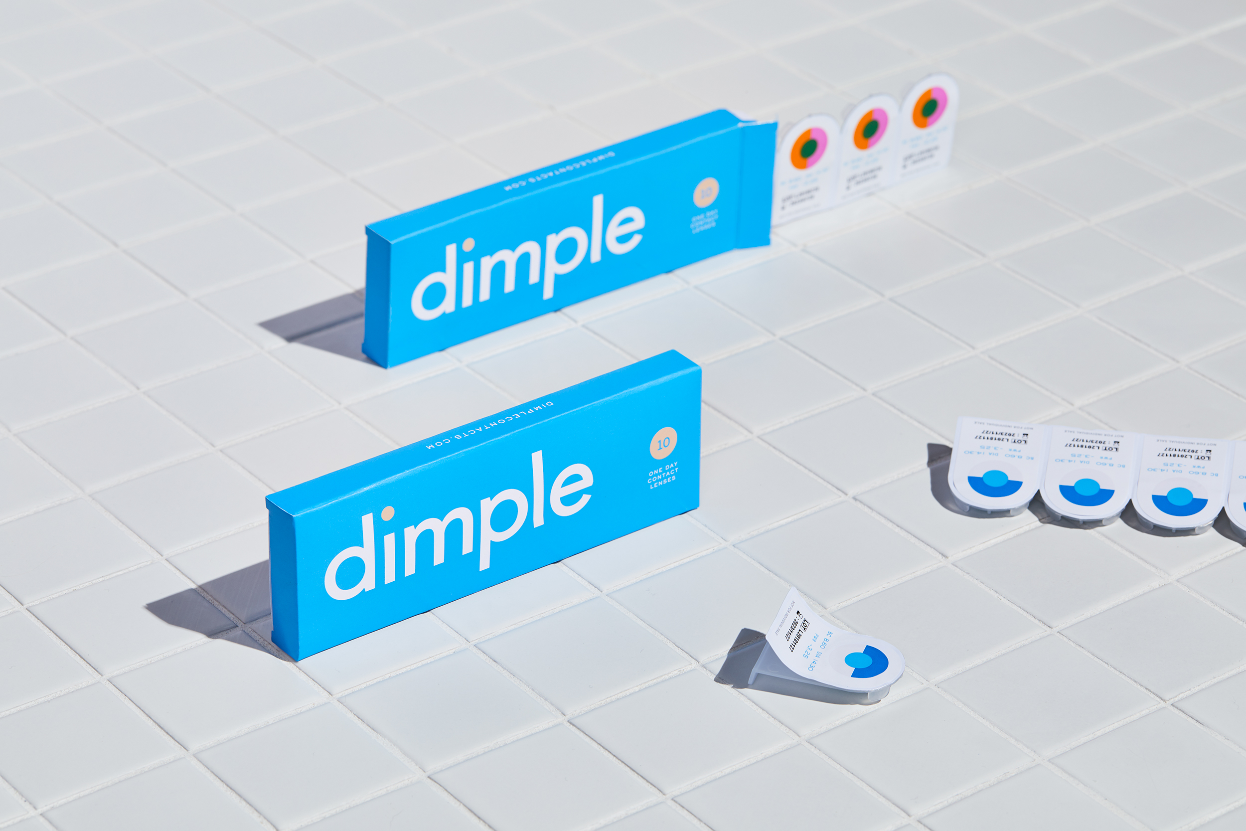 Dimple Contacts shot by Sydney advertising food and lifestyle photographer Benito Martin