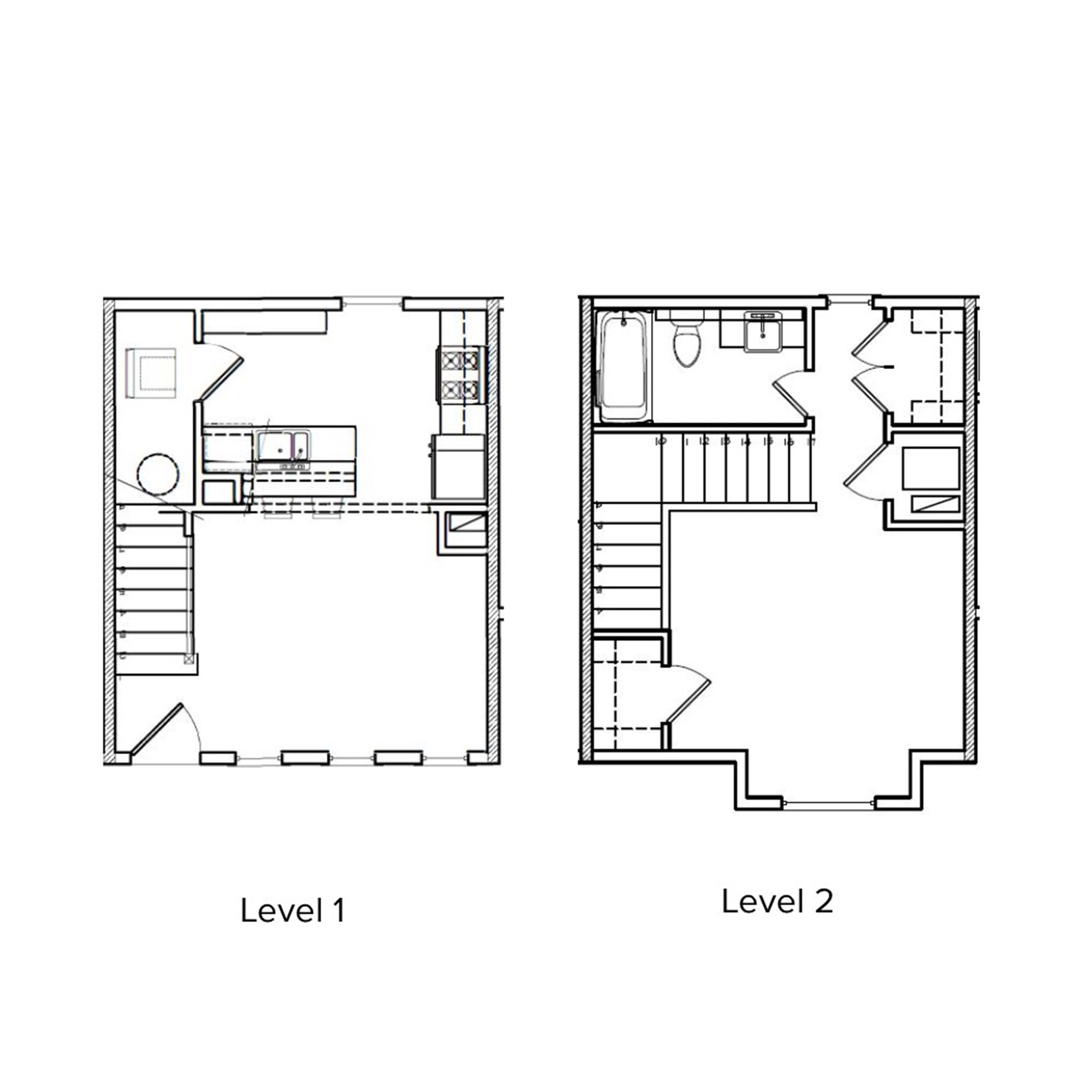 The Village 1 Bedroom, 1 Bathroom   678 Sq/ft