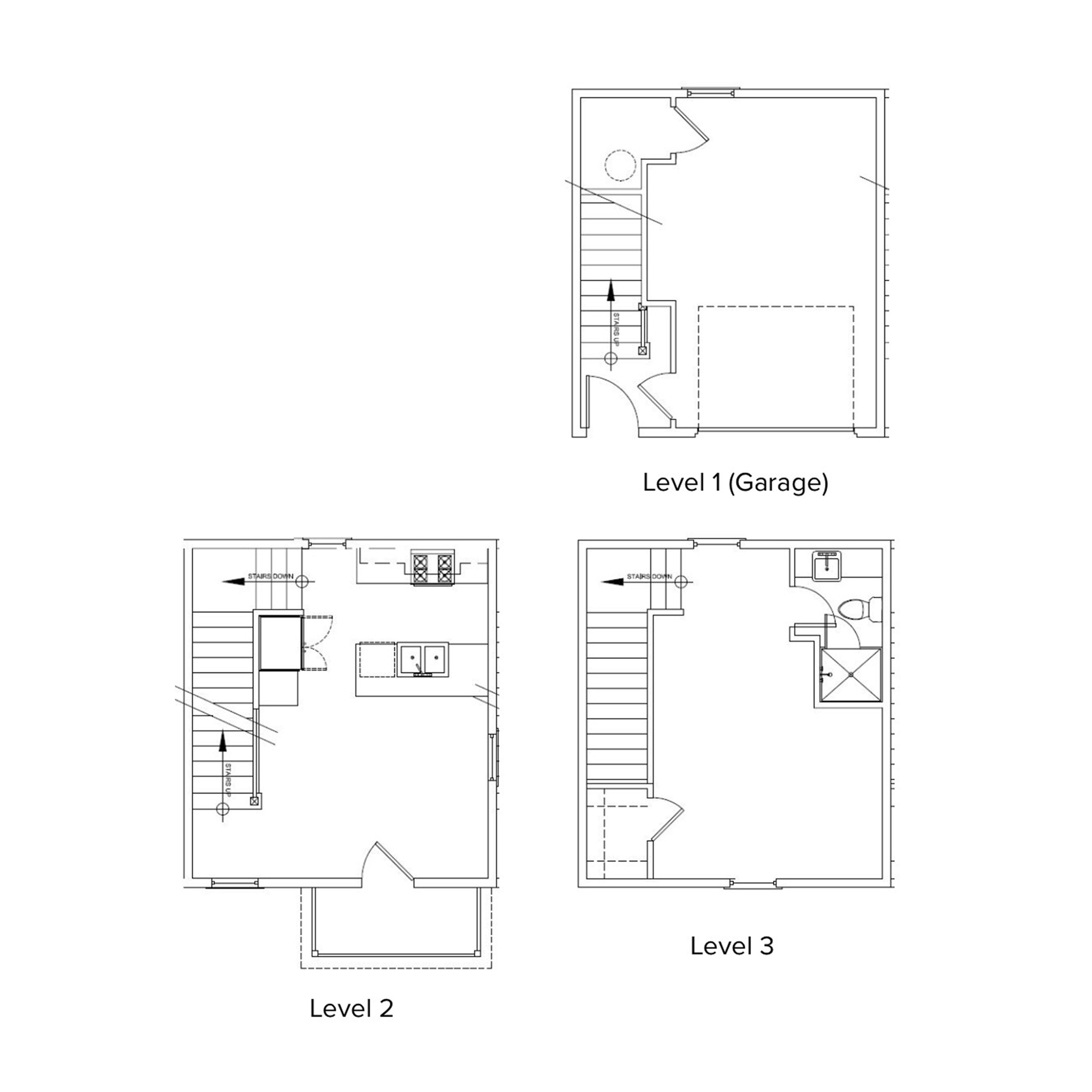 The Village 1 Bedroom, 1 Bathroom, Garage   1122 Sq/ft