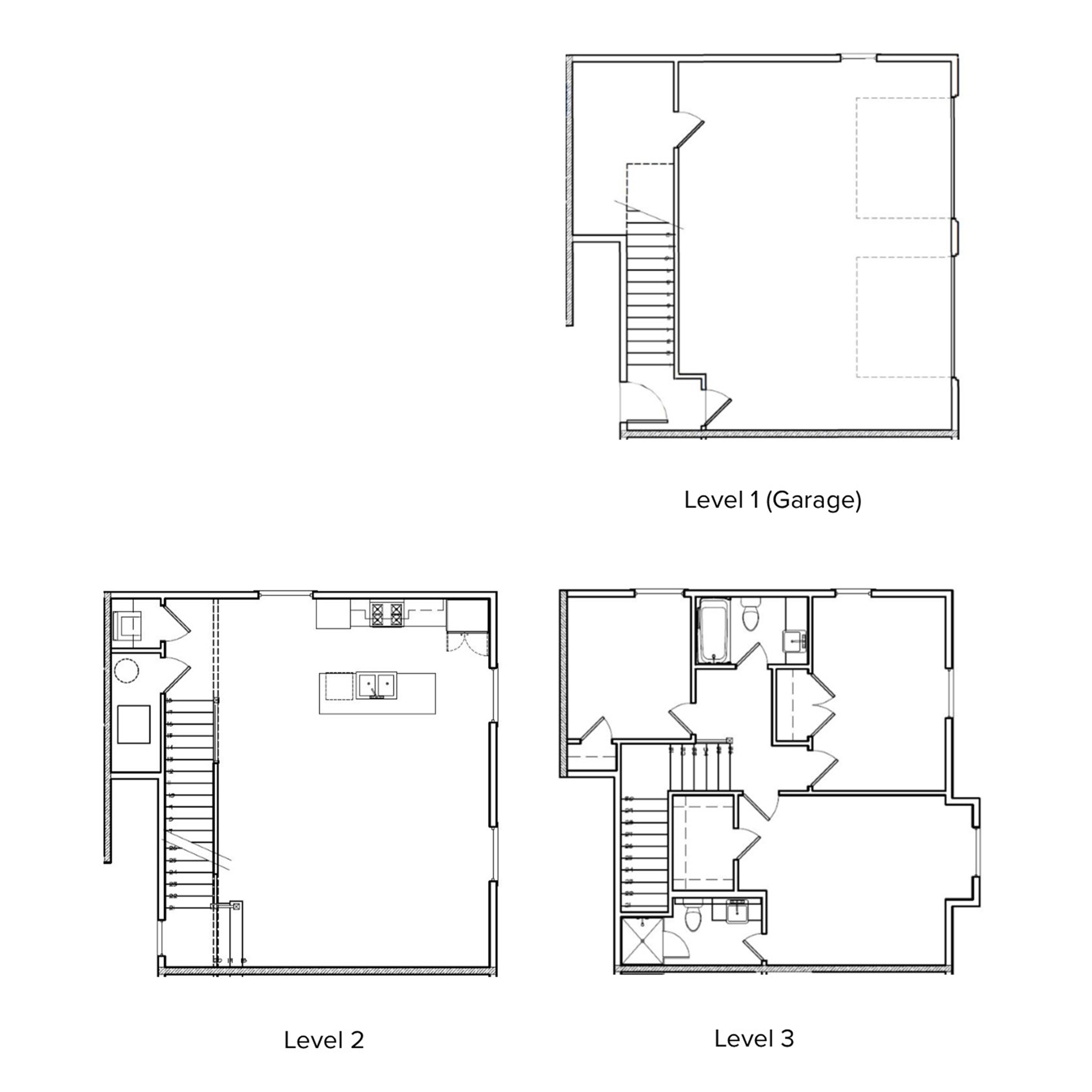 The Village 3 Bedroom, 3 Bathroom, Garage   2276 Sq/ft