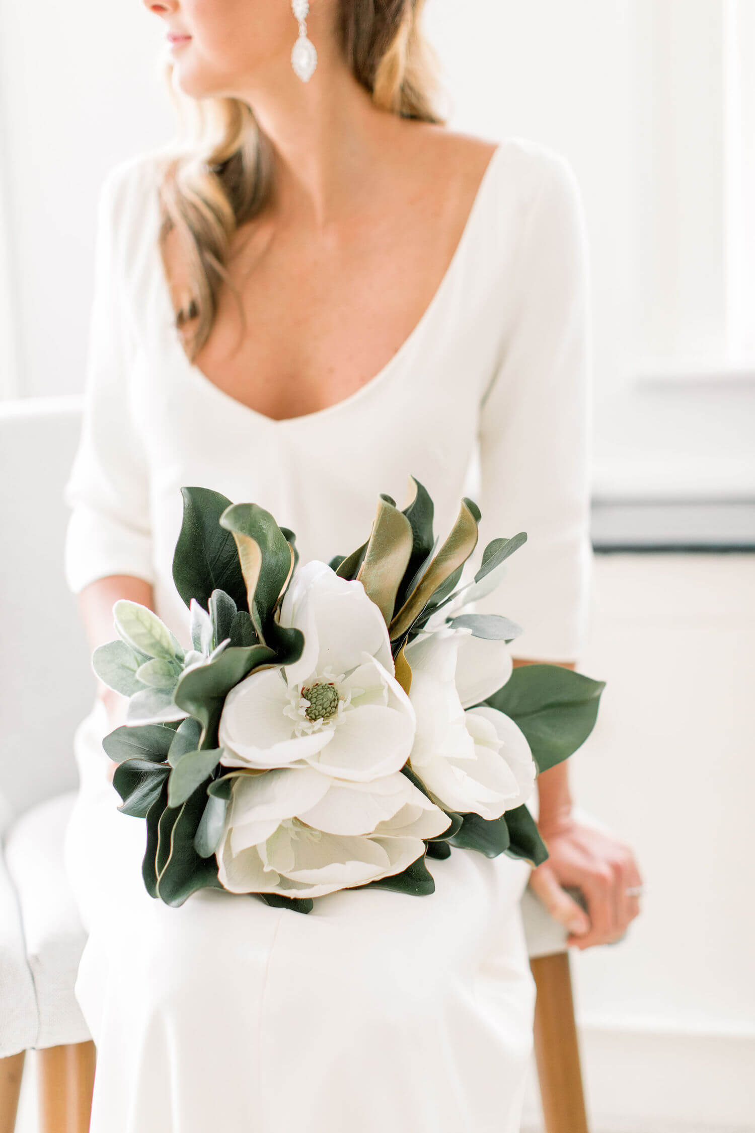 Sarah Janks crepe gown with magnolia flower.jpeg