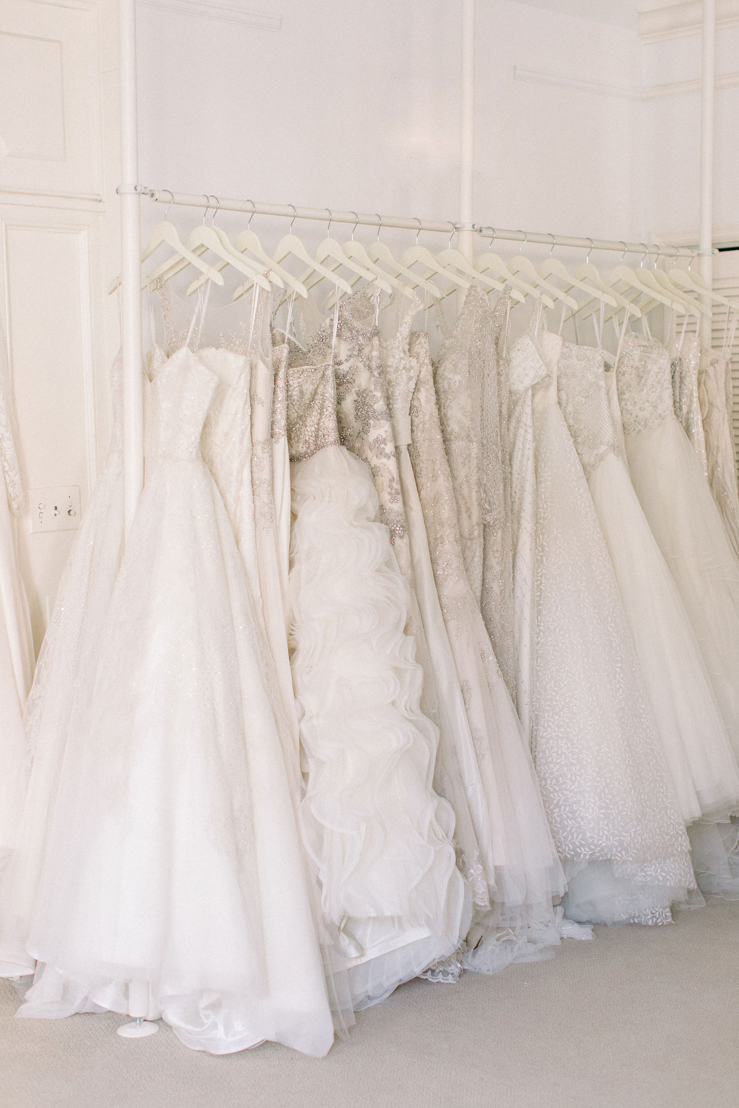beaded wedding gowns at Magnolia Bride in Charleston SC.JPG