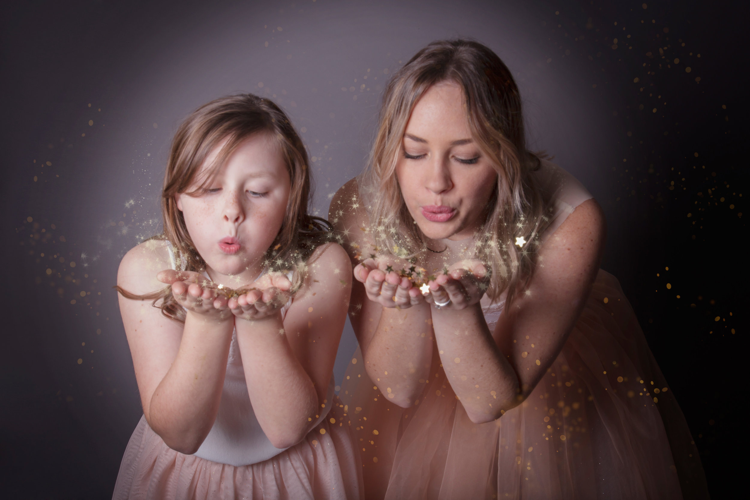 Mother and Daughter Photoshoot