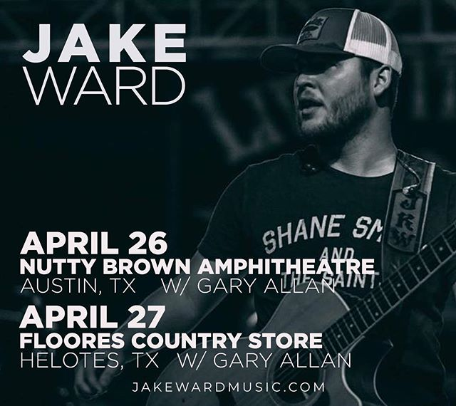 It's gonna be a good weekend with @garyallanmusic at @nuttybrownamphitheatre and @floorecountrystore