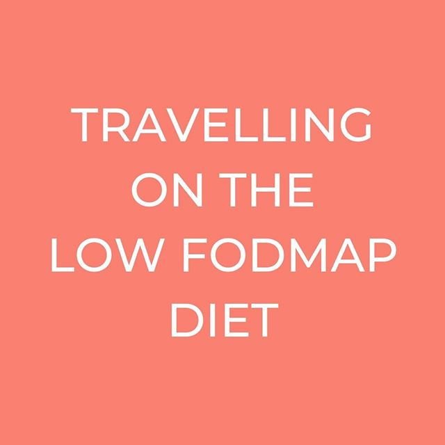TRAVELLING ON THE LOW FODMAP DIET // Does it seem a bit overwhelming? Let me know in the comments :)⠀ ----------⠀ The low FODMAP diet is complicated, and not the easiest to follow at the best of times, let alone when travelling for work or just going off on a summer holiday! Who's with me?? ⠀ ⠀ ----------⠀ BUT it can be done!! I do it myself (I can't even count the number of countries I've travelled to in the last 2 years) and I help all of my clients to do it with confidence, so going on holiday can be a joy again. I recently answered some questions from @bayskitchenuk  on HOW to do this.⠀ ------------⠀ ▶ For some top tips on how to travel whilst on the low FODMAP diet (that I use myself and share with clients) go to https://bayskitchen.com/travelling-whilst-on-the-low-fodmap-diet/ or hit the link in my bio😊⠀ ----------⠀ #ibs #ibsc #ibsd #ibsm #bloating #lowfodmap #lowfodmapdiet #fodmapdiet #ibsdiet #ibsfriendly #highfodmap #fodmapfriendly #bloating #guthealth  #healthtips #healthadvice #travel #summerholiday #travelwithfoodintolerances #itssummer #holidaytime #travellover #travelling #fodmaps #summertime #iloveholidays #lovetotravel #relax