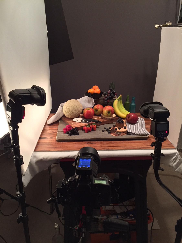 set up, behind the scenes