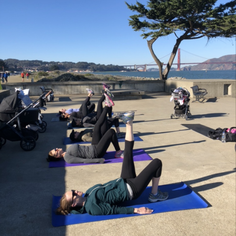 Photo credit ~ Baby bootcamp sf