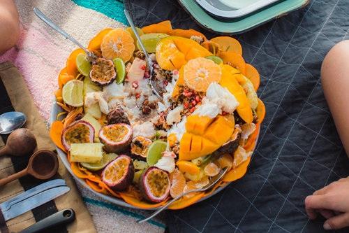 Seaside Fruit & Granola