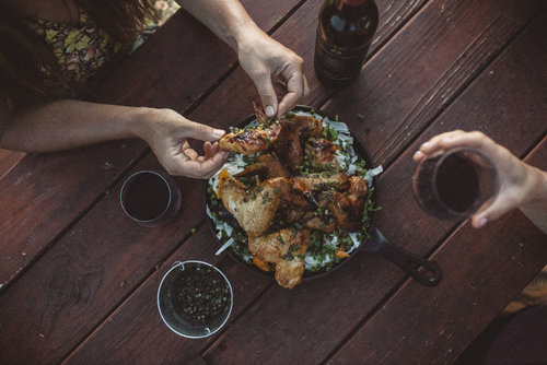 Whisky Grilled Chicken Wings