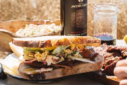 Russian River Reuben Sandwich