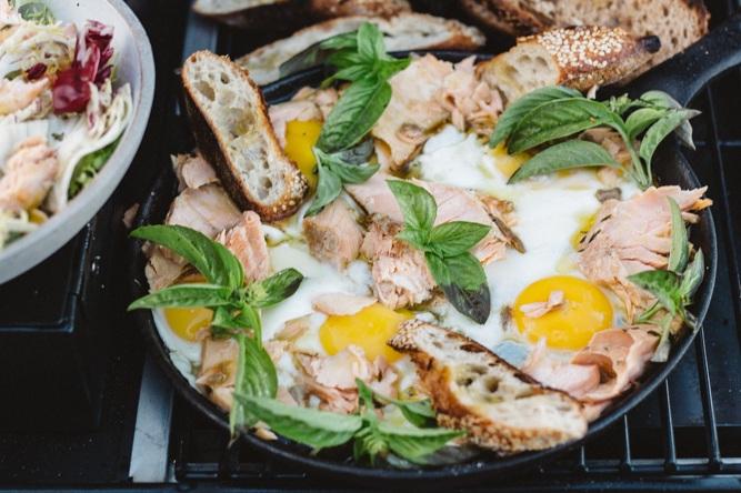 Confit Salmon Breakfast