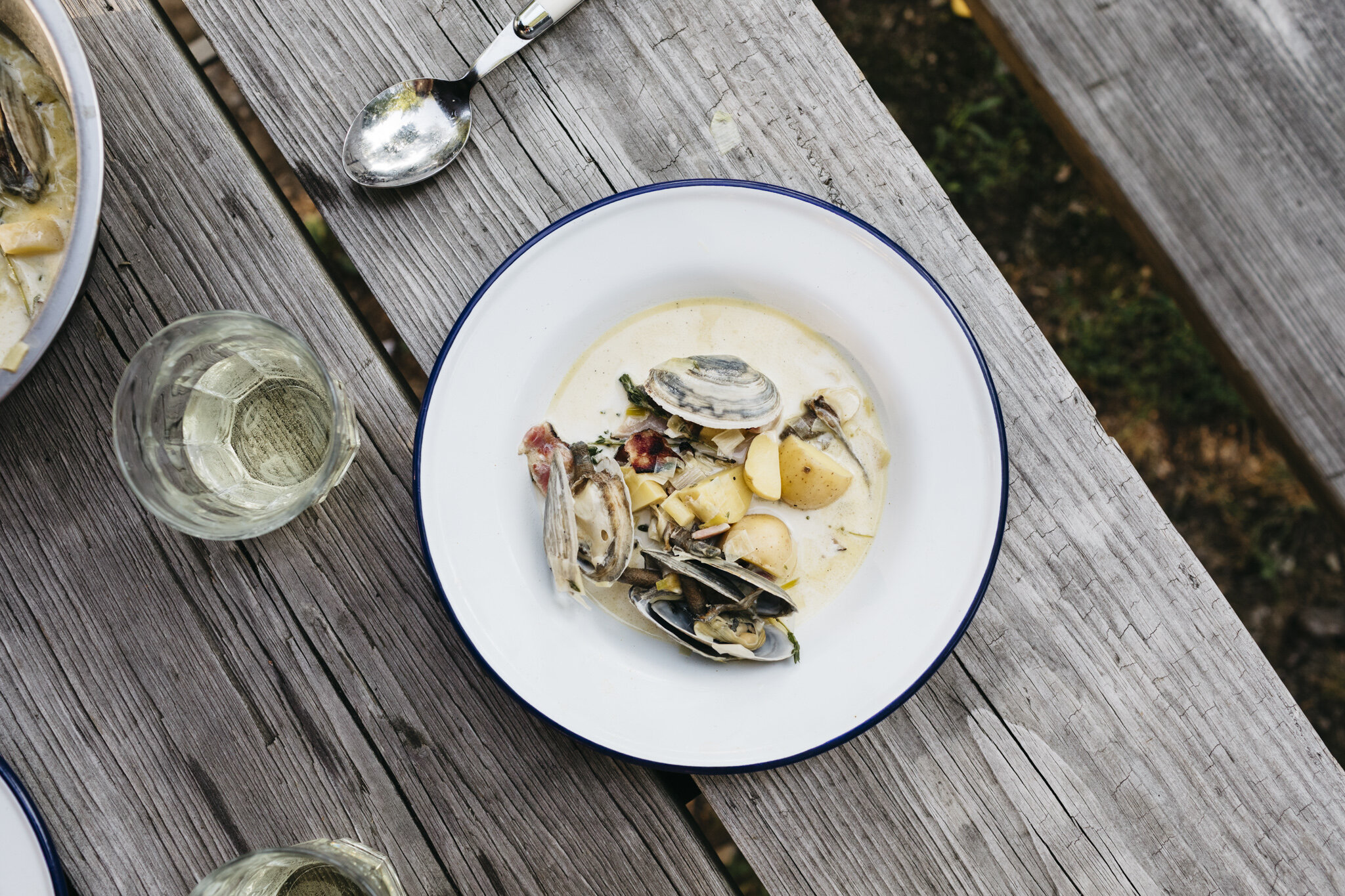 Copy of Smoked Clam Chowder