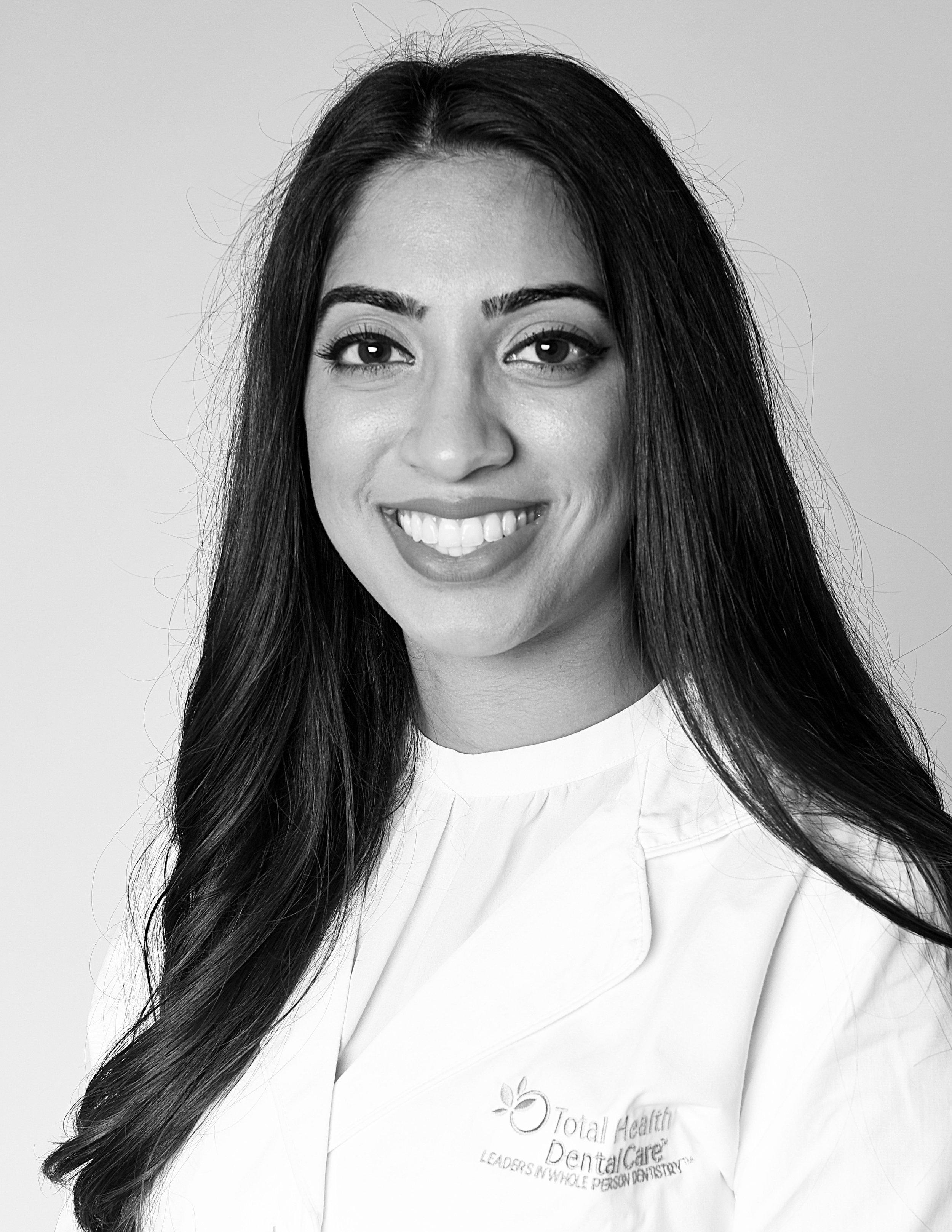 Dentist Dr. Navreena Sahota Total Health Dental Care.