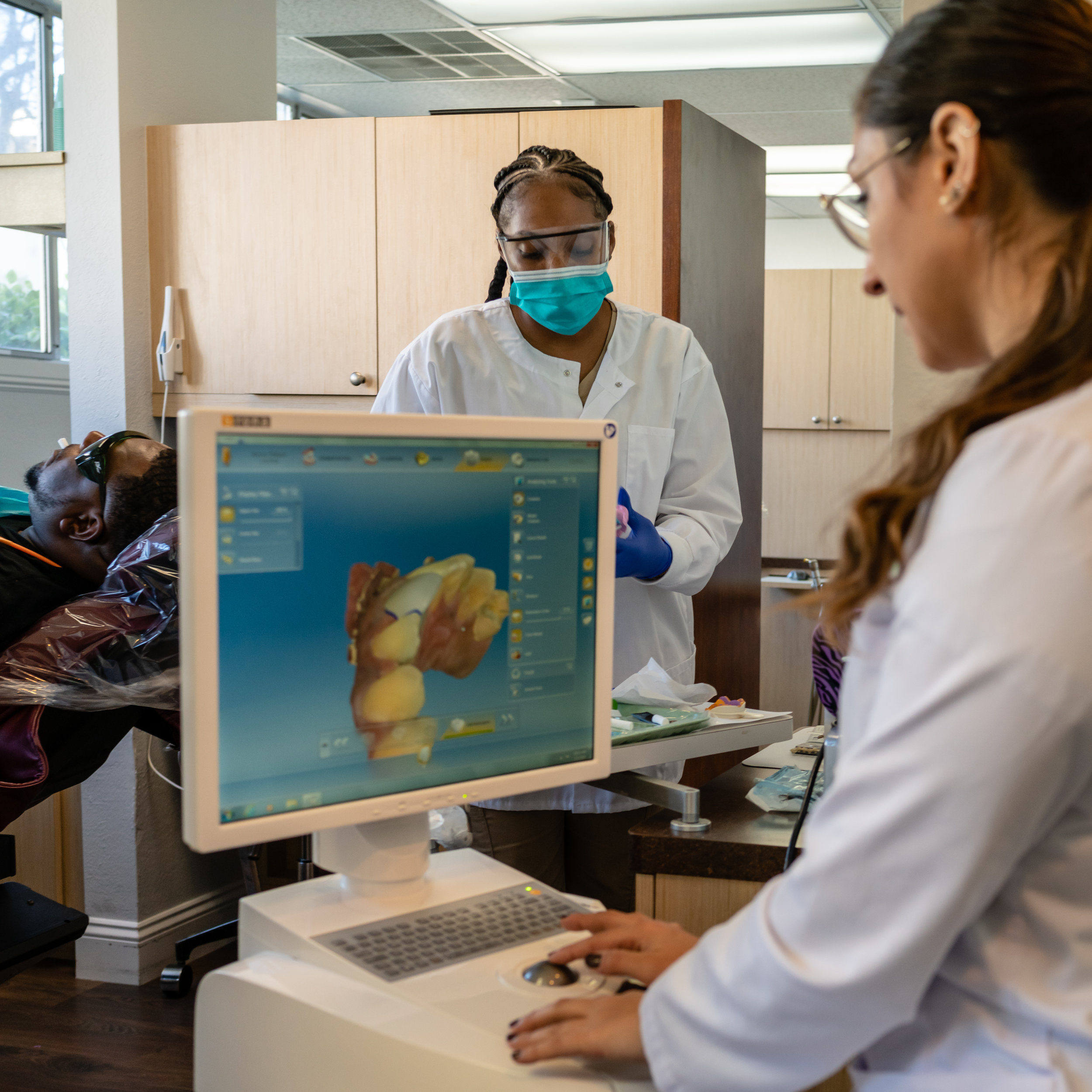Dentist Hygienist CEREC Restorations Total Health Dental Care