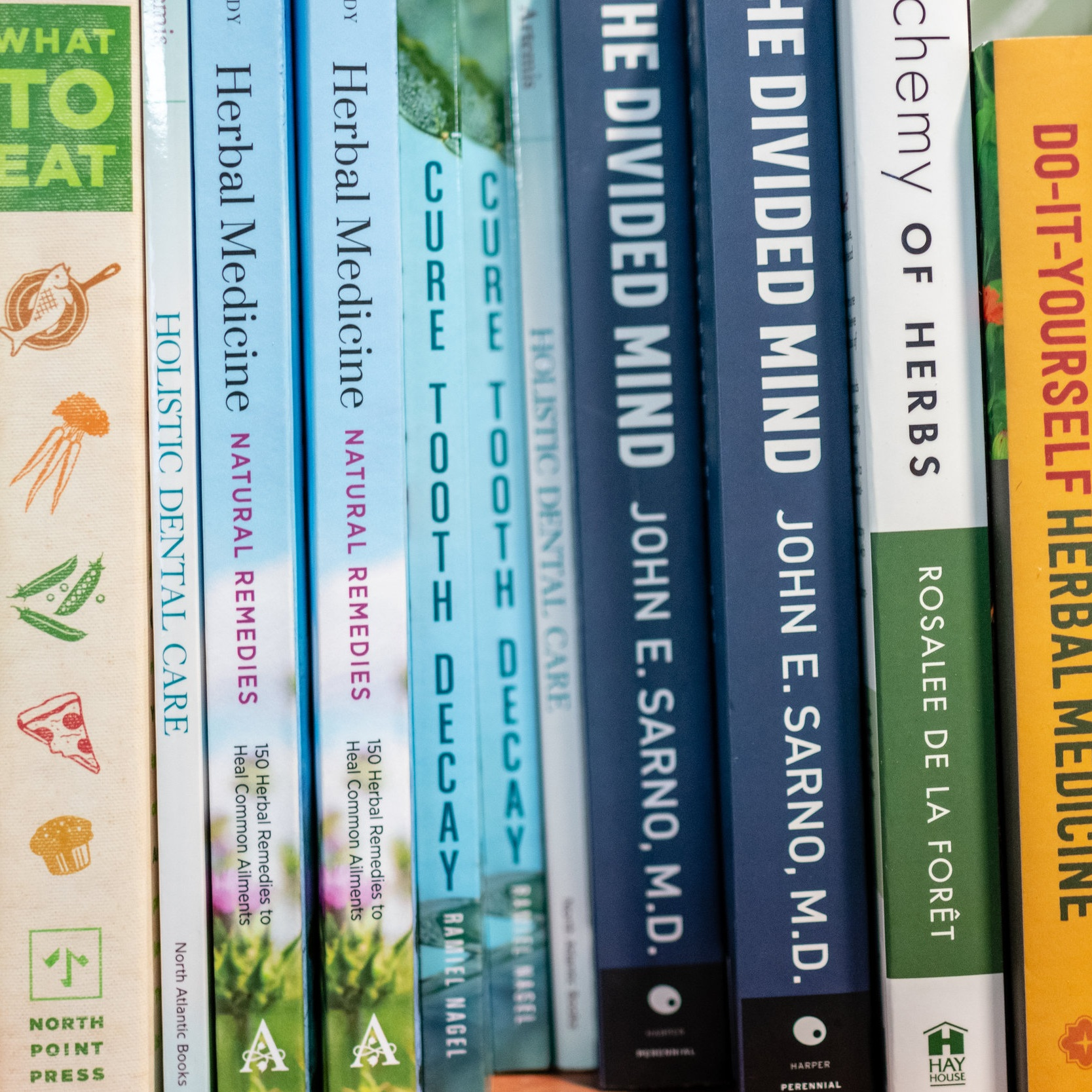 Each Total Health Dental Care Office has a lending library so patients can check out books on Herbal Medicine and Nutrition.