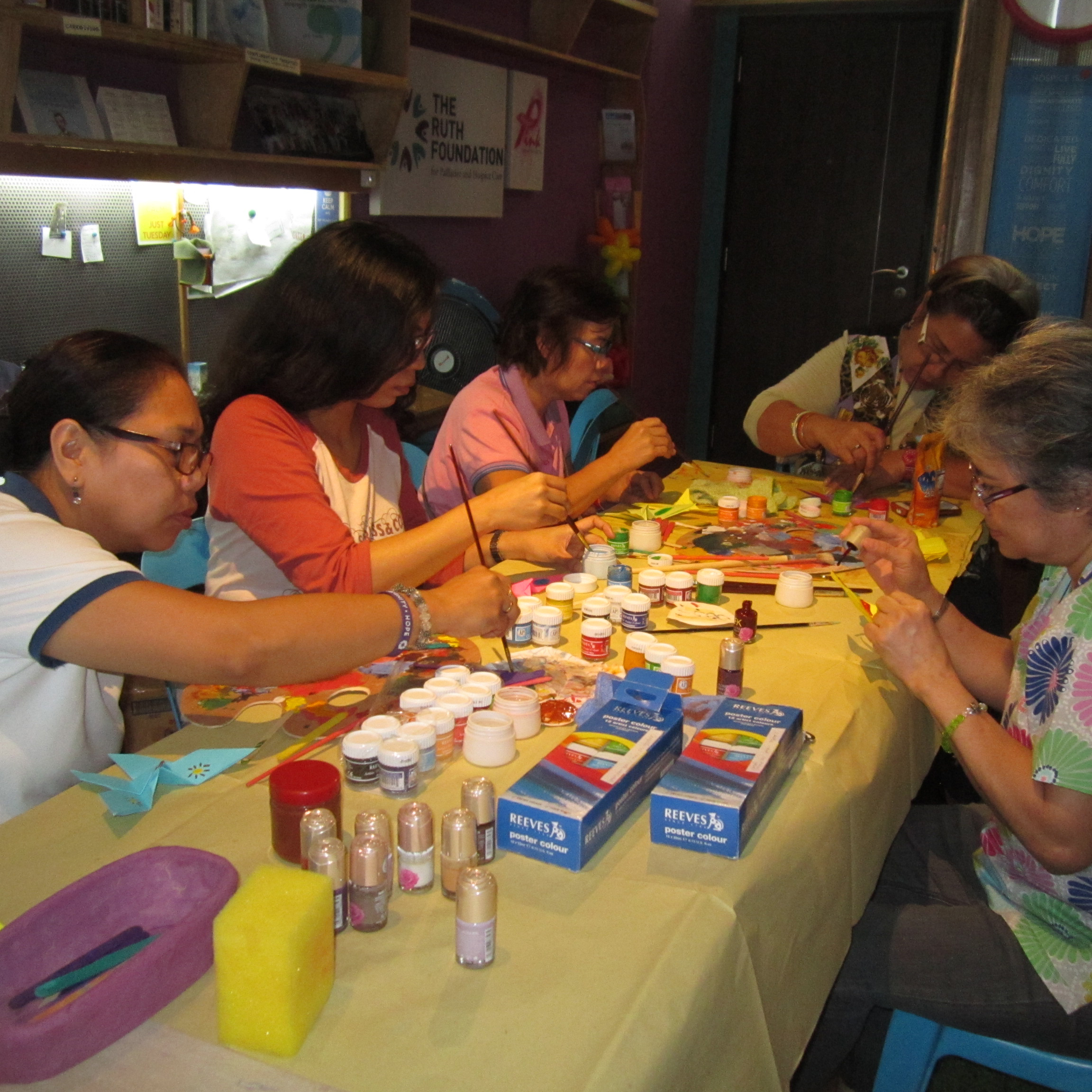 art therapy - We provide physical relief to our homebound patients and their caregivers through the capable hands of our massage therapists.