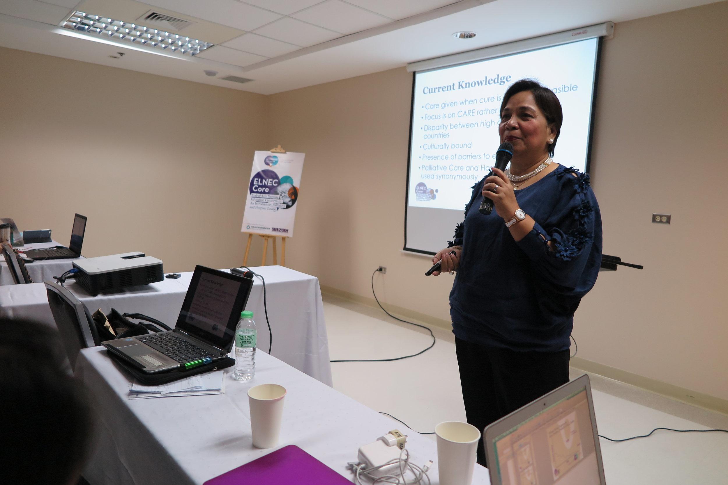 Lecturer: Nurse Marilou Furio