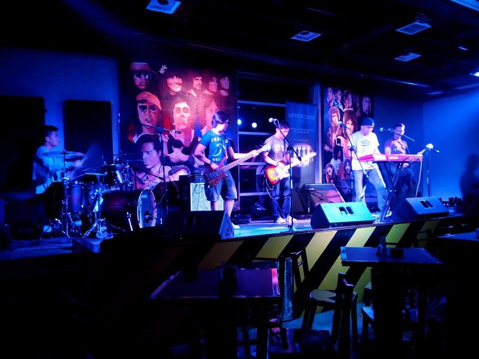Performing at Checkpoint Rockbar