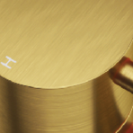 BRUSHED BRASS -