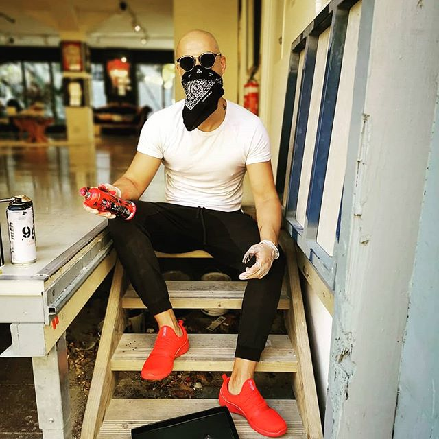 Back on my grind... 💯💯💯 #streetart #artporn #art #streetwear #sneakerhead  @athletikan @ironlak