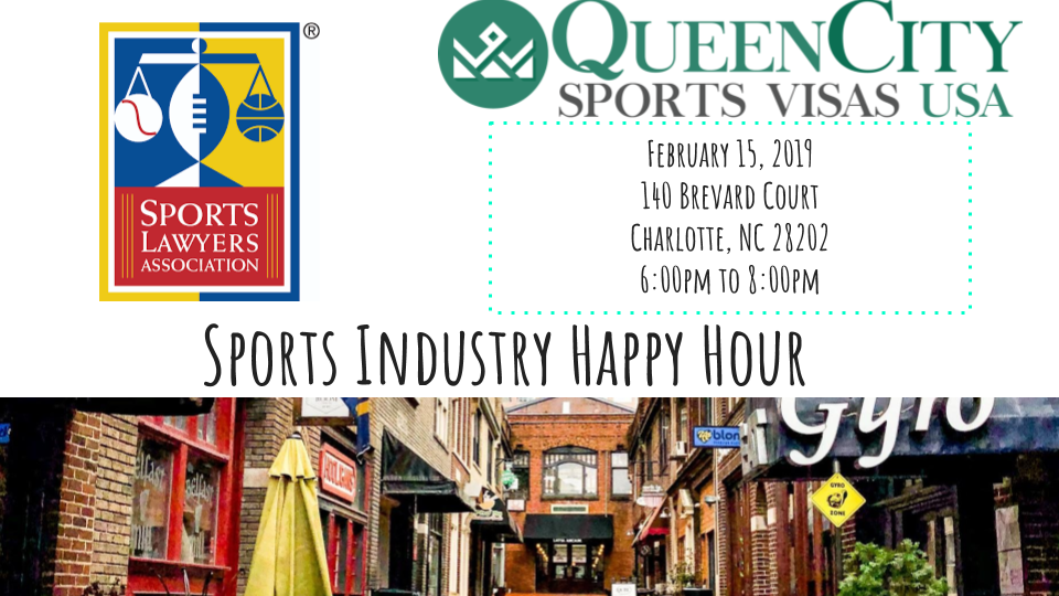 NBA All-Star Sports Industry Happy Hour - February 15, 20196:00 PM to 8:00 PMCotton Room & Upper Deck | French Quarter Uptown144 Brevard Ct, Charlotte, NC 28205