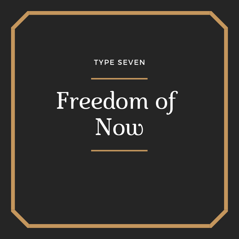 Freedom of Now - A movement from planning and gluttony, anxious to taste and see all that life has to offer, to a state of Sustained Concentration, gratefully embracing whatever is in front of us here and now, joy and pain alike. Lyrics & More…