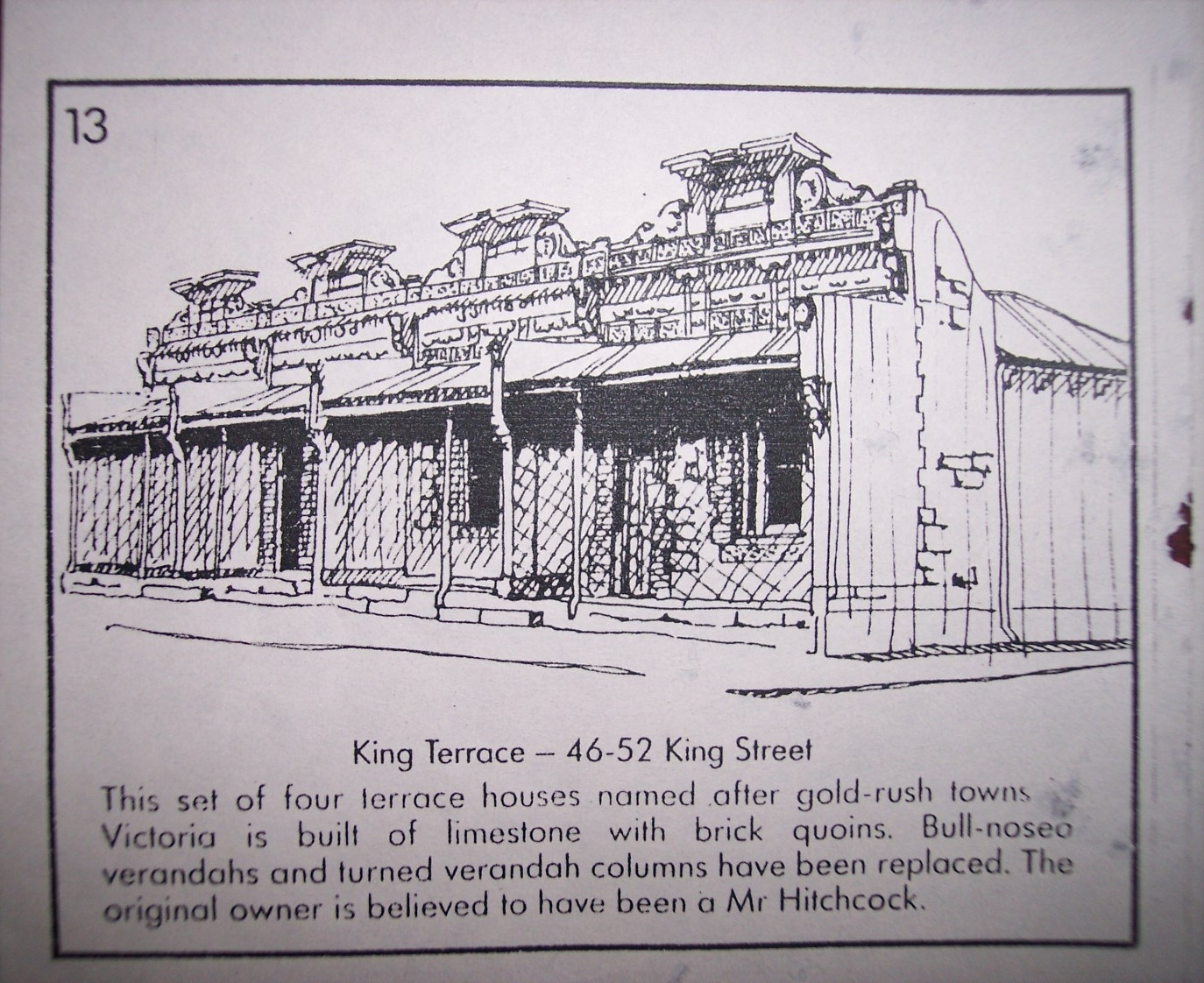 46 - 52 King Street (Early Building Pamphlet