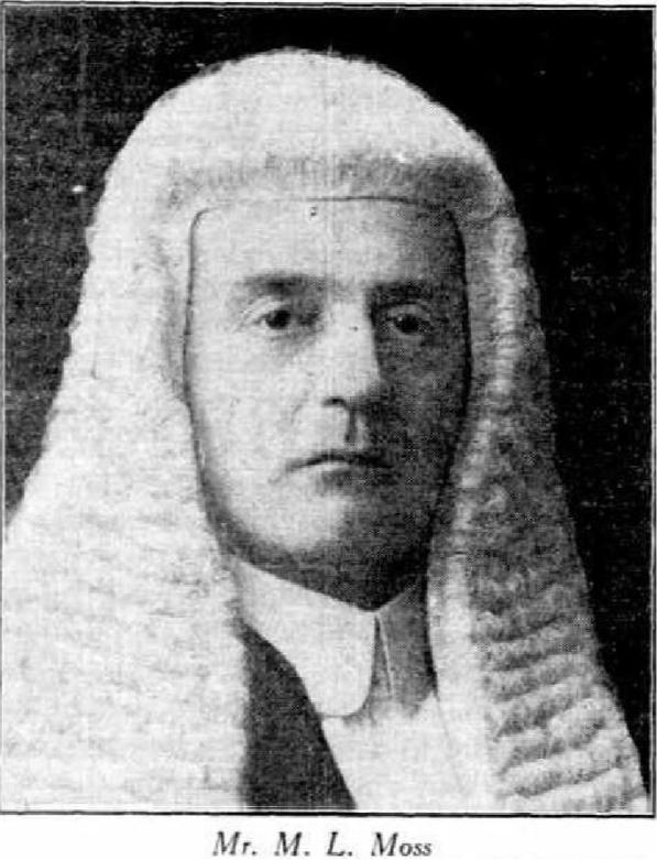 M Moss 1934