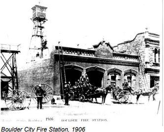 Boulder Fire station 1906