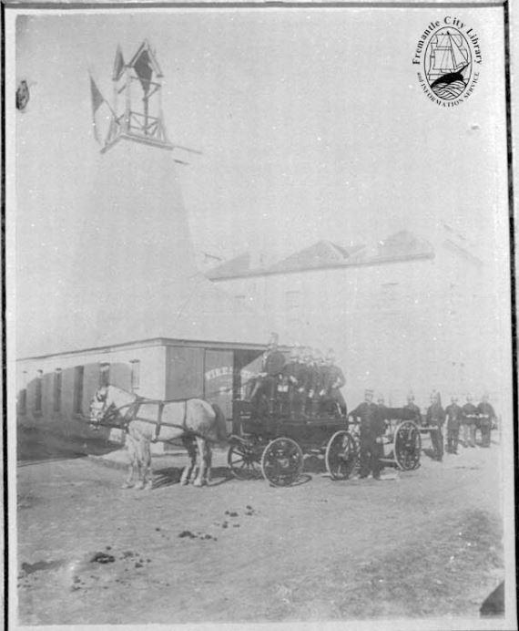 Fremantle Fire Station 1893