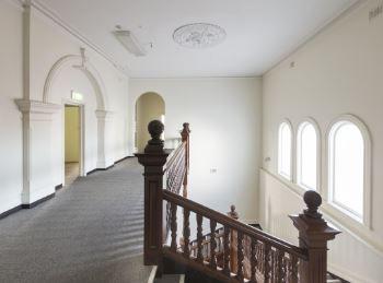 Inside stairwell and corridor. Photo:Joel Barbitta