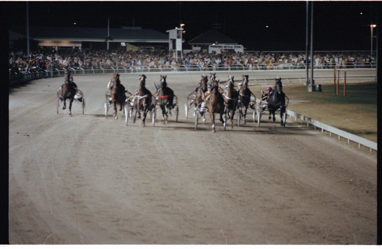 SLWA 1978 The Golden Jubilee Fremantle Pacing Cup at Richmond Raceway, Photo Stevenson, Kinder & Scott Corporate Photography