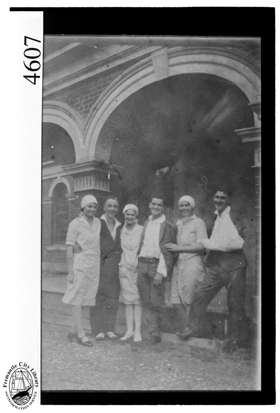 Woodside hospital staff 1928