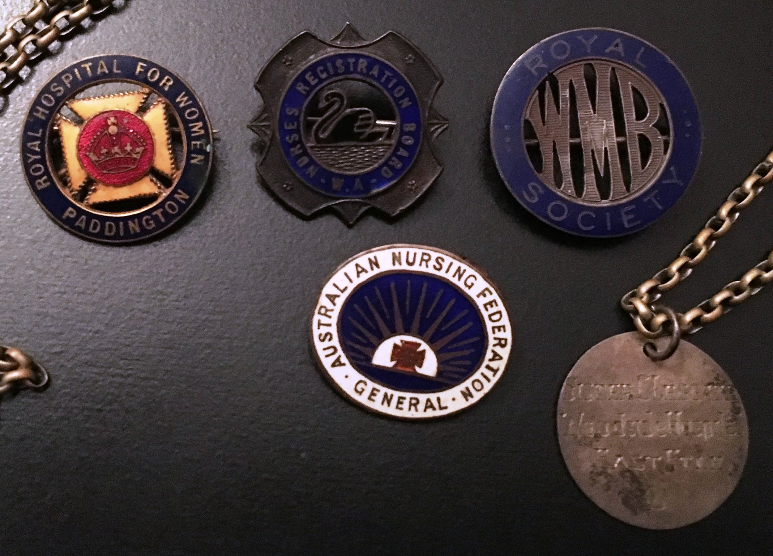 Matron Leggate medals