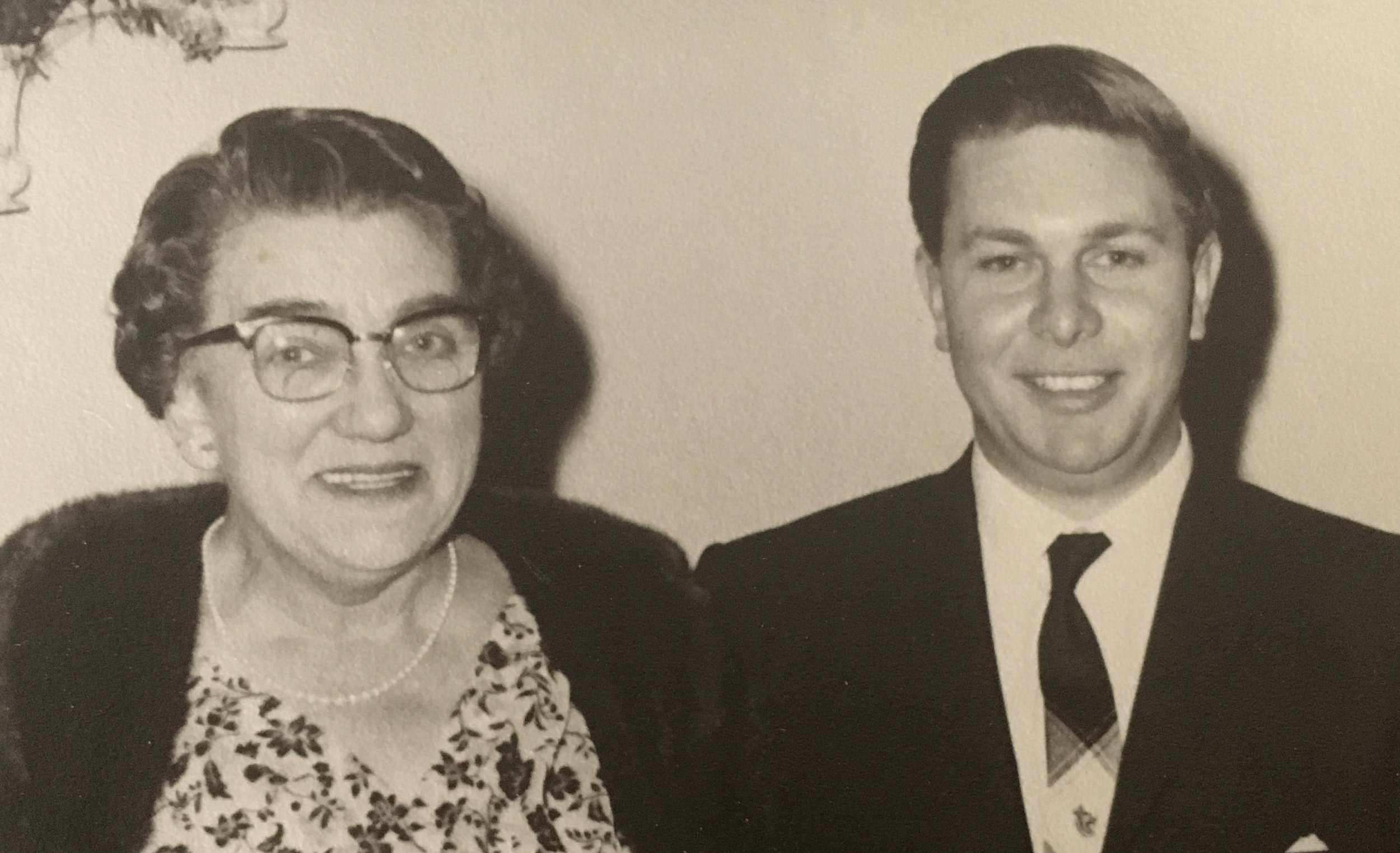 Carrie and nephew John Hayman