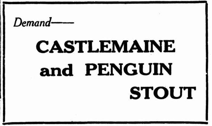 Stout Add Western Mail 1928