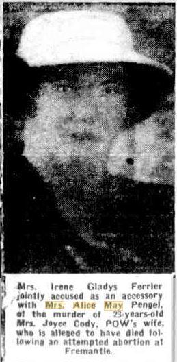 Irene Ferrier 1945, Mirror